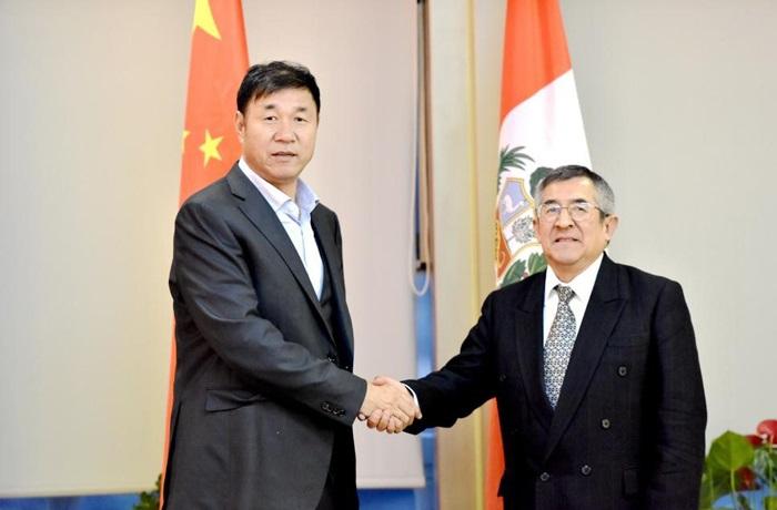 Ông Wang Qingtao