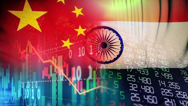 Tại sao thị trường chứng khoán Trung Quốc sụt giảm lại có thể giúp Ấn Độ khởi sắc