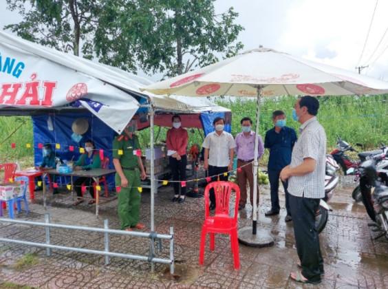 U Minh Thượng (Kiên Giang) tăng cường kiểm tra công tác phòng, chống dịch bệnh Covid-19