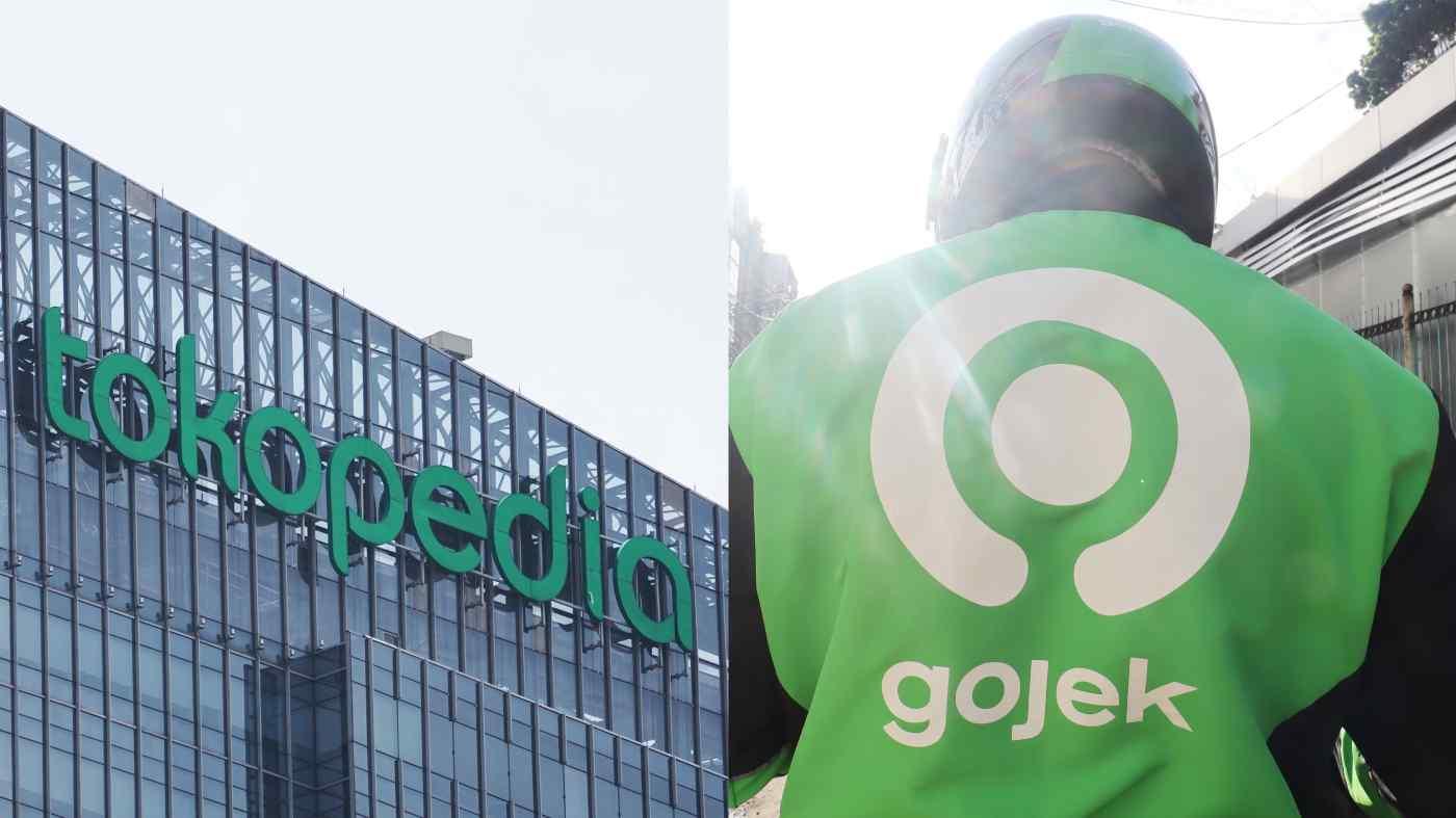 Các công ty khởi nghiệp Indonesia Tokopedia và Gojek đã hợp nhất hoạt động của họ và hướng tới niêm yết trên thị trường chứng khoán Mỹ. (Nguồn ảnh của Dimas Ardian và Ken Kobayashi)