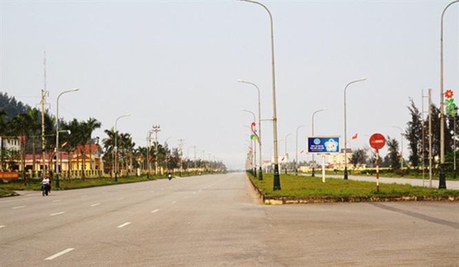 Hà Tĩnh xem xét việc tài trợ quy hoạch Khu đô thị thị trấn Lộc Hà