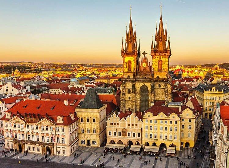 Thủ đô Praha của Cộng hòa Séc góp mặt tại vị trí thứ 7 trong danh sách