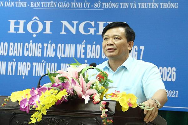 Ông Đỗ Hữu Quyết - Giám đốc Sở Thông tin và Truyền thông tỉnh Thanh Hóa