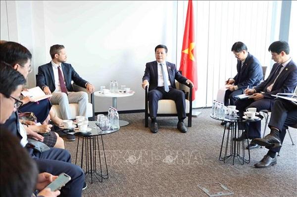 Bộ trưởng Bộ Công Thương làm việc với các đối tác quan trọng tại Bỉ và châu Âu