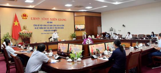 Kiên Giang công bố vận hành, sử dụng Cổng dịch vụ công và Hệ thống Một cửa điện tử phiên bản 2.0