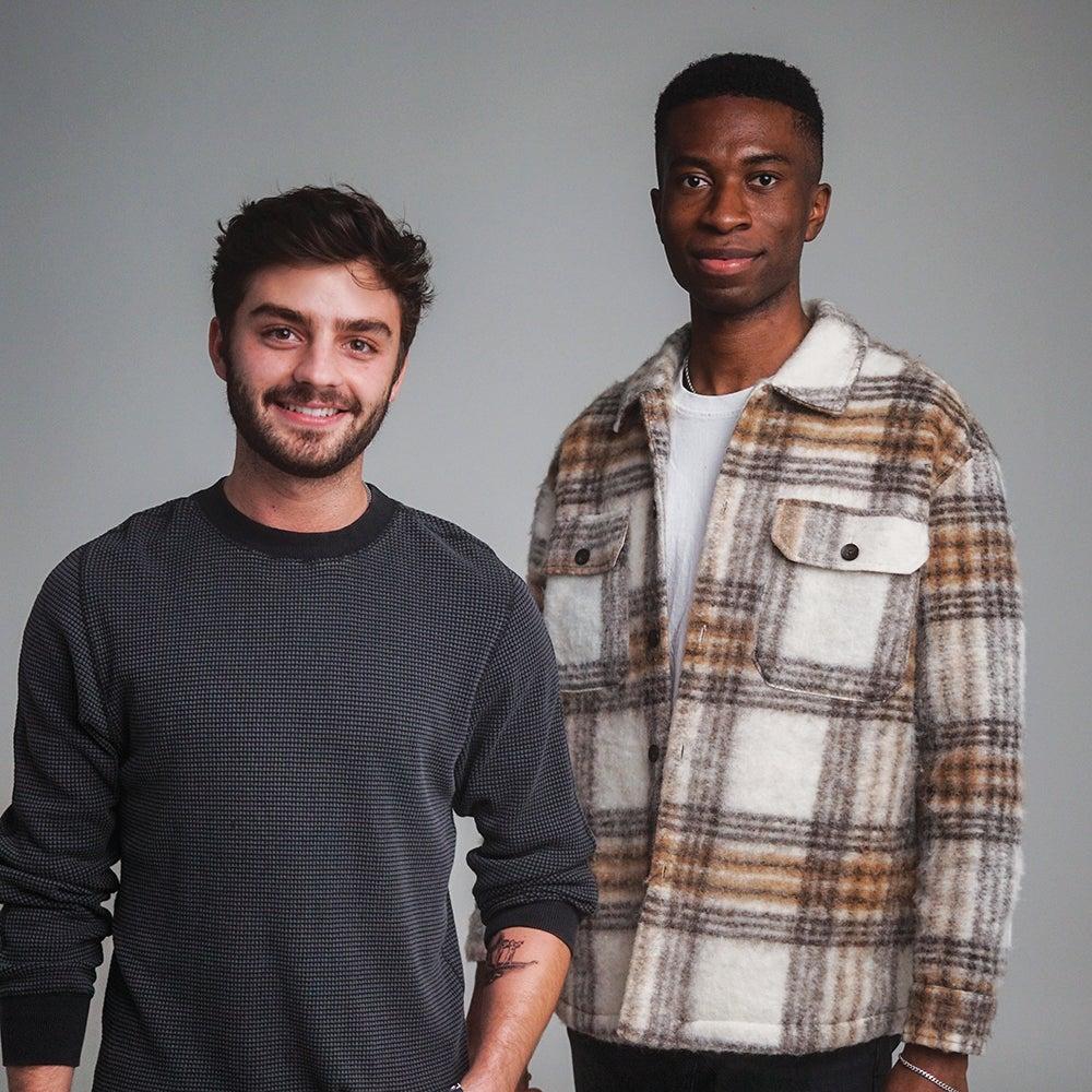 Oliver Zak và Selom Agbitor