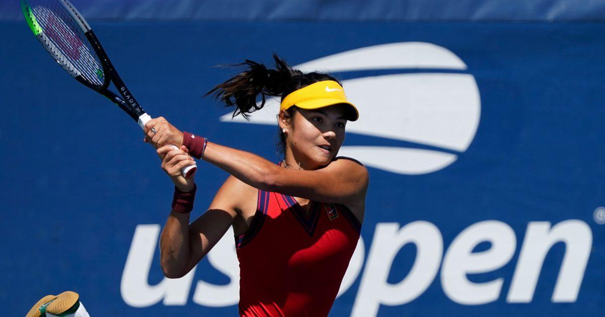 Raducanu là tay vợt đầu tiên trong lịch sử vào chung kết Mỹ Mở rộng dù phải chơi vòng loại. Nguồn: Internet