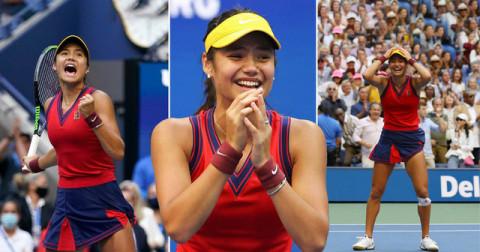 Tay vợt tuổi teen Emma Raducanu vô địch giải Mỹ mở rộng 2021 và lập một loạt kỷ lục