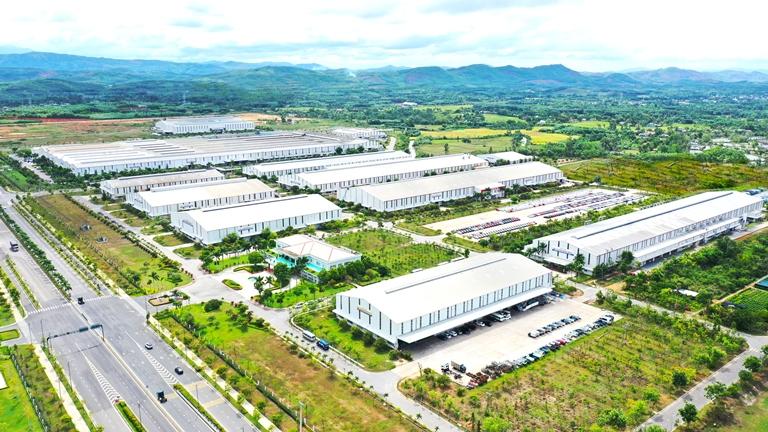 KCN sản xuất linh kiện phụ tùng và cơ khí Thaco