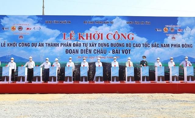 Công ty TNHH Hoà Hiệp và các đối tác trúng 1 trong 4 gói thầu đoạn cao tốc Nghi Sơn - Diễn Châu