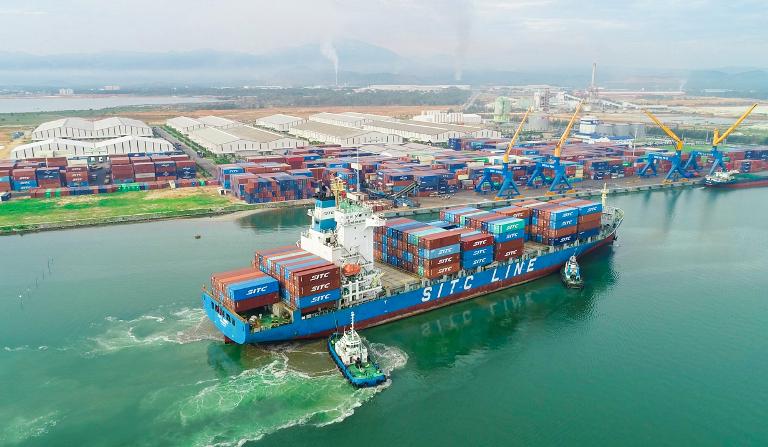 Cảng Chu Lai (thuộc THACO) - cửa ngõ xuất nhập khẩu hàng hoá mới tại miền Trung