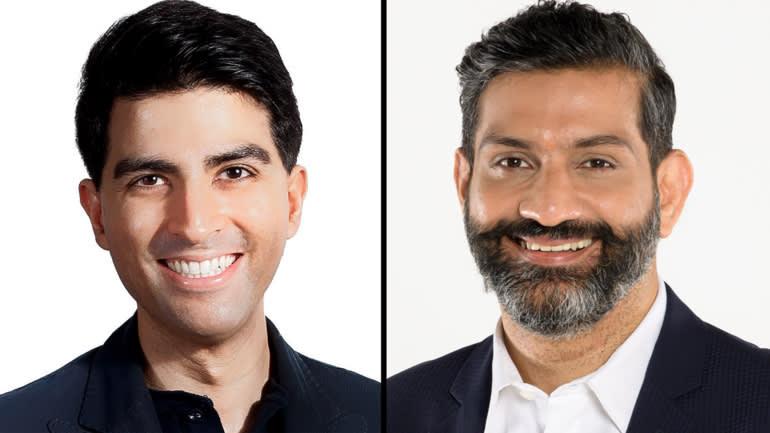 Vishal Harnal, trái, và Amit Anand. (Ảnh do 500 Startups and Jungle Ventures cung cấp)