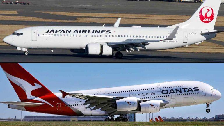 Cơ quan quản lý Úc ngăn chặn thỏa thuận giữa hai hãng hàng không Qantas Airways và Japan Airlines