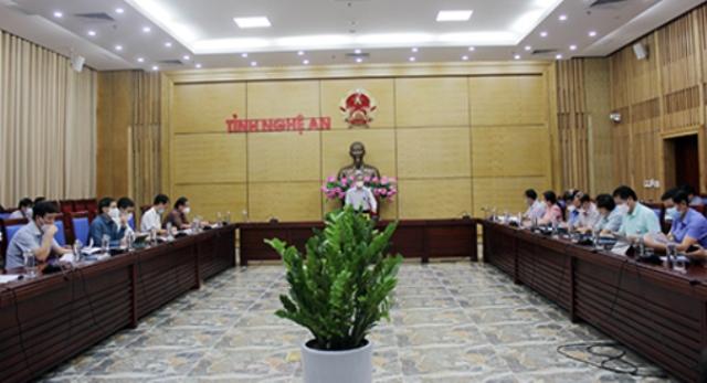 Nghệ An: Tăng cường lãnh, chỉ đạo của cấp ủy, chính quyền các cấp trong hỗ trợ và phát triển doanh nghiệp