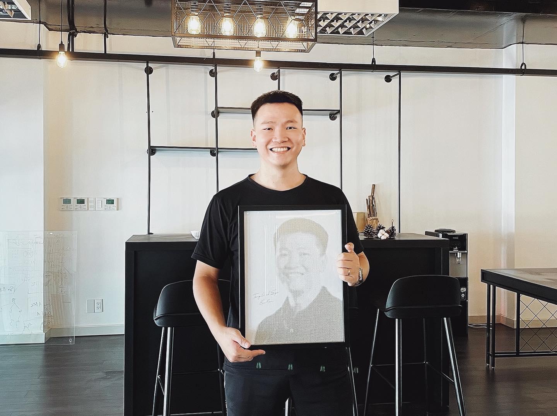 CEO Nguyễn Thế Vinh: Để thành công, phải chấp nhận thử thách. Nguồn: Internet