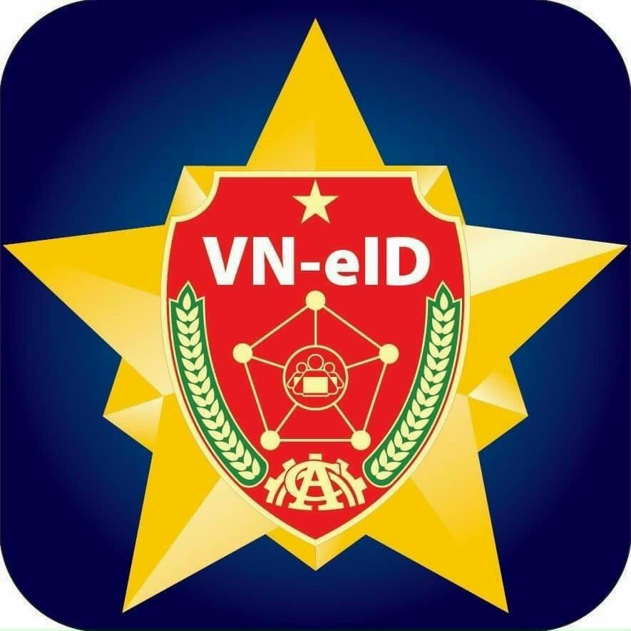 Biểu tượng của ứng dụng VNEID trên điện thoại