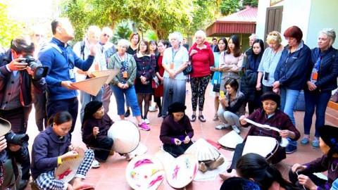 Phù Ninh (Phú Thọ): Làng nghề nón lá truyền thống hướng phát triển theo hướng đi mới