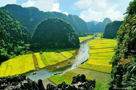Tràng An- Ninh Bình: Vẻ đẹp thiên nhiên như một thiên đường