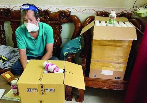 Một đối tượng trong đường dây sản xuất thuốc điều trị Covid-19 giả bị Cơ quan Công an bắt giữ