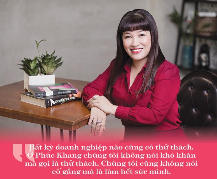 CEO Lư Thị Thanh Mẫu - TGĐ Phúc Khang Corporation