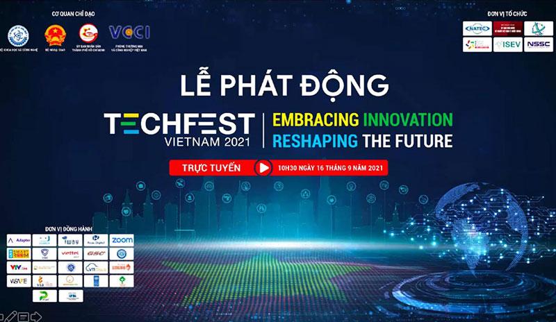 phát động Cuộc thi tìm kiếm tài năng khởi nghiệp đổi mới sáng tạo quốc gia TECHFEST 2021