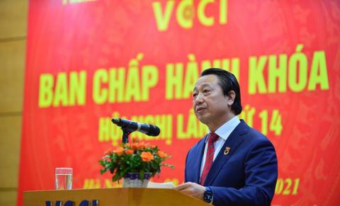 """VCCI: Triển khai nhiều hoạt động """"Hợp tác doanh nghiệp"""" cùng ứng phó với dịch Covid-19"""