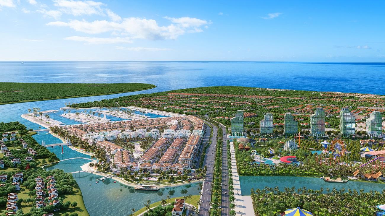 Hệ sinh thái du lịch nghỉ dưỡng tỷ đô đang được Sun Group kiến tạo tại Sầm Sơn (Ảnh minh họa)