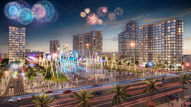 Kinh tế đêm Sầm Sơn sớm được kích hoạt nhờ quảng trường biển, trục đại lộ thương mại