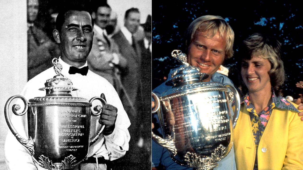 Walter Hagen và Jack Nicklaus là 2 golfer có nhiều chiến thắng nhất tại PGA Championship.