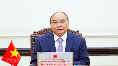 Chủ tịch nước Nguyễn Xuân Phúc gửi thư cảm ơn và động viên đến cử tri TP Hồ Chí Minh