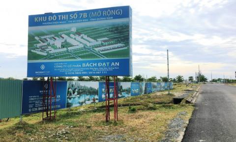 Quảng Nam: Xem xét chấm dứt, thu hồi 4 dự án do Công ty CP Bách Đạt An làm chủ đầu tư