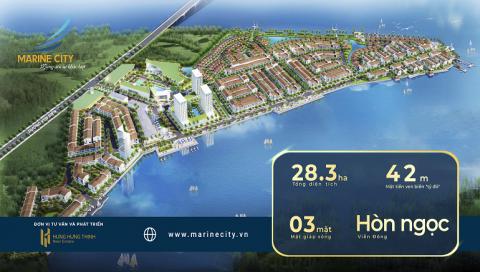 Sắp mở bán 150 vị trí đẹp nhất của Khu đô thị Marine City
