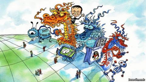 """Trung Quốc quyết tâm phá bỏ """"hàng rào"""" kỹ thuật số của các gã khổng lồ internet"""