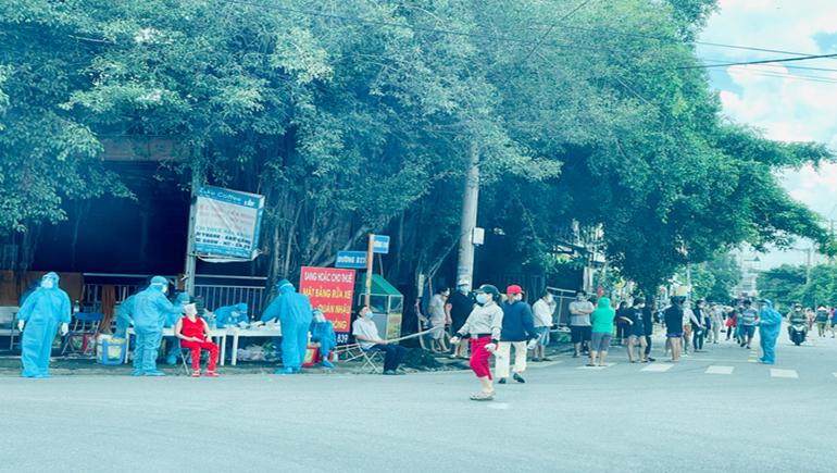TP. Thủ Dầu Một, tỉnh Bình Dương sau thời gian giãn cách hơn 1 tuần phát hiện 76 ca F0 tại phường Phú Cường