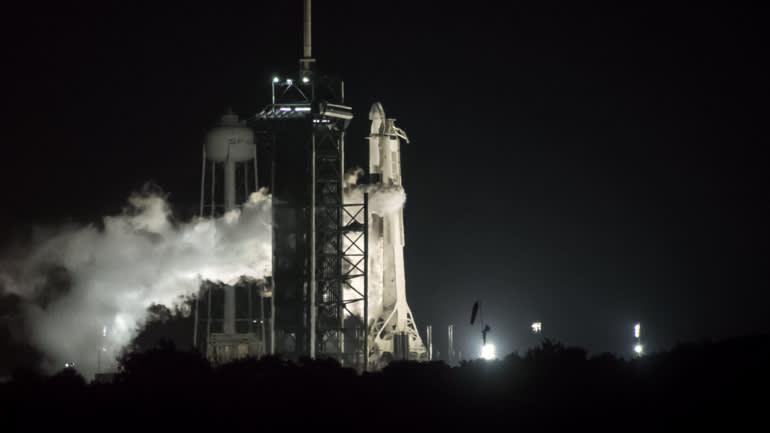 Không gian trên Falcon 9 Rocket có thể được đặt trước thông qua SpaceBD, một trong nhiều công ty khởi nghiệp đang tăng cường cạnh tranh trong ngành vũ trụ. © Hình ảnh Getty