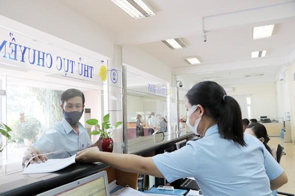 Doanh nghiệp làm thủ tục hải quan tại Chi cục Hải quan Biên Hòa