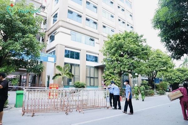 Bệnh viện Đa khoa Hợp Lực dỡ bỏ phong tỏa khu vực an toàn