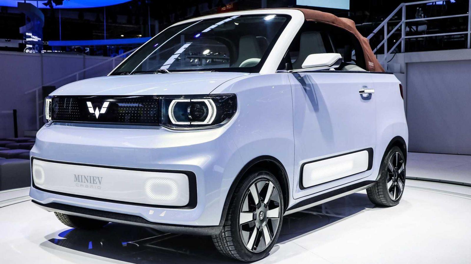 Hongguang Mini EV, xe điện bán chạy nhất Trung Quốc