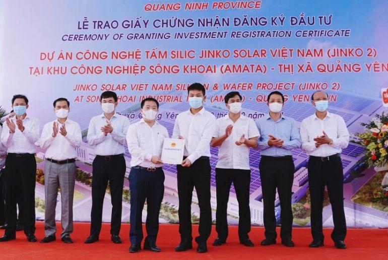 Doanh nghiệp FDI đầu tư gần 20.000 tỷ đồng triển khai liên tiếp 2 dự án tại Quảng Ninh