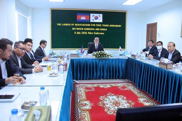 Đàm phán vòng 4 thỏa thuận FTA Hàn Quốc-Campuchia. (Nguồn: bilaterals.org)
