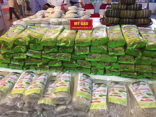 Mi gạo xã Hùng Lô, thành phố Việt Trì (Phú Thọ)