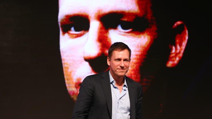 Peter Thiel, đồng sáng lập PayPal Inc.