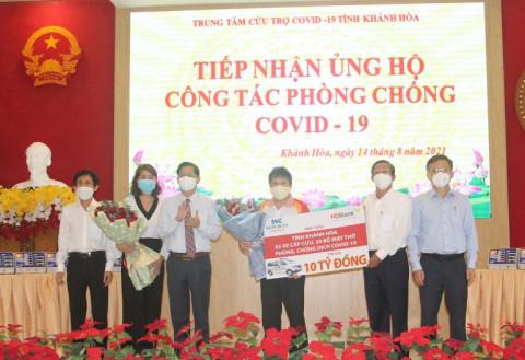 Trung tâm Cứu trợ Covid-19 tỉnh Khánh Hòa: Tiếp nhận hơn 4,6 tỷ đồng, 26 tấn gạo và nhiều trang thiết bị y tế