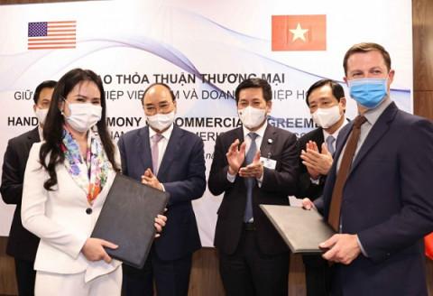 T&T Group ký kết một loạt hợp đồng và biên bản ghi nhớ với các đối tác Mỹ