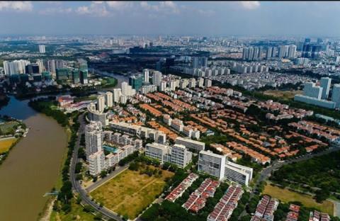 Phát triển các đại đô thị mới giúp giãn dân cho nội đô TP Hà Nội