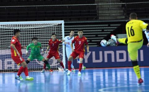 Lịch trực tiếp FIFA World Cup Futsal 2021 hôm nay 22.9: Tuyển Việt Nam chiến đến cùng