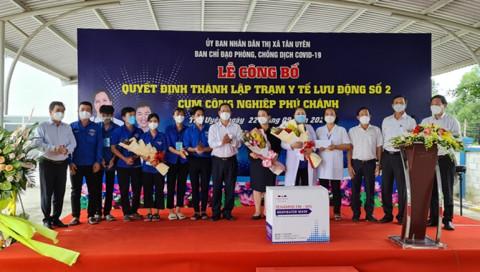 TX.Tân Uyên – Bình Dương: Trạm y tế số 2, cụm Công nghiệp Phú Chánh đưa vào hoạt động