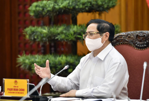 Thủ tướng chỉ thị: Người dân tiêm đủ 2 mũi vaccine được sản xuất và vận chuyển hàng hóa, nông sản
