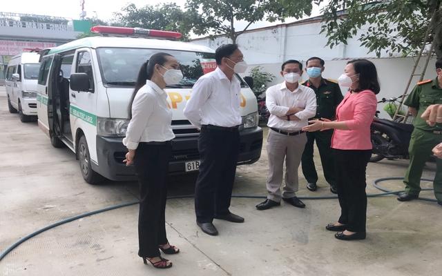 Về Trạm Y tế lưu động ở tại Vùng đỏ và Vùng xanh cần triển khai triệt để trên địa bàn tỉnh