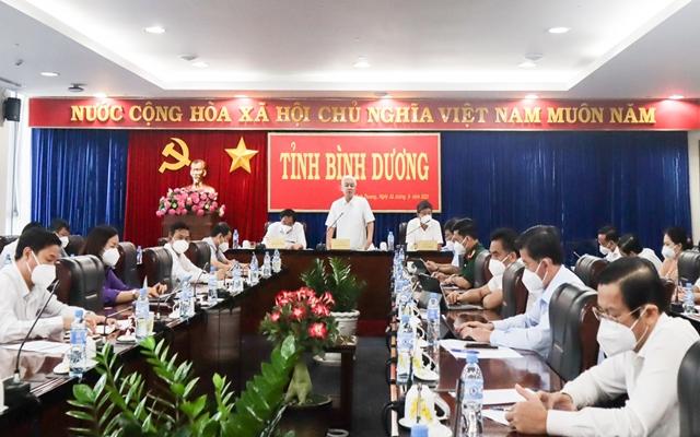 Đồng chí Nguyễn Văn Lợi, Ủy viên Trung ương Đảng, Bí thư Tỉnh ủy phát biểu chỉ đạo
